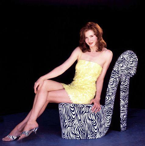 Geena Davis Feet