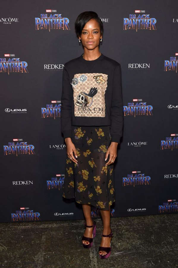 Letitia Wright Feet