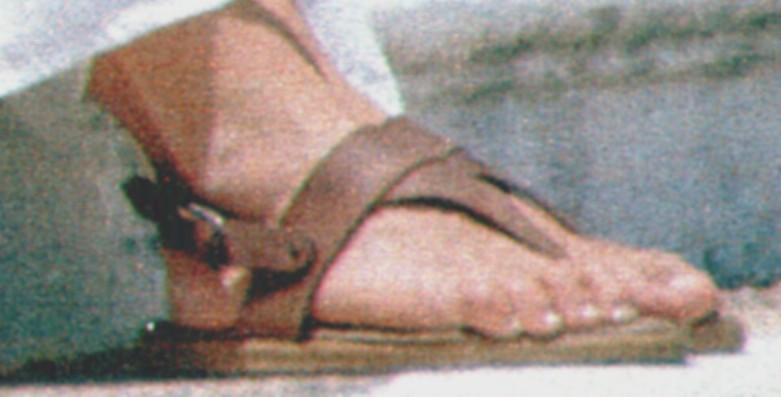 Romina Power Feet