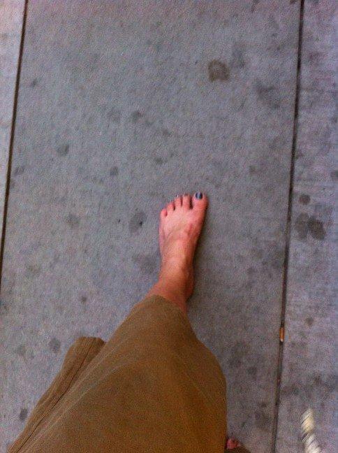 Nicole Hansen Feet