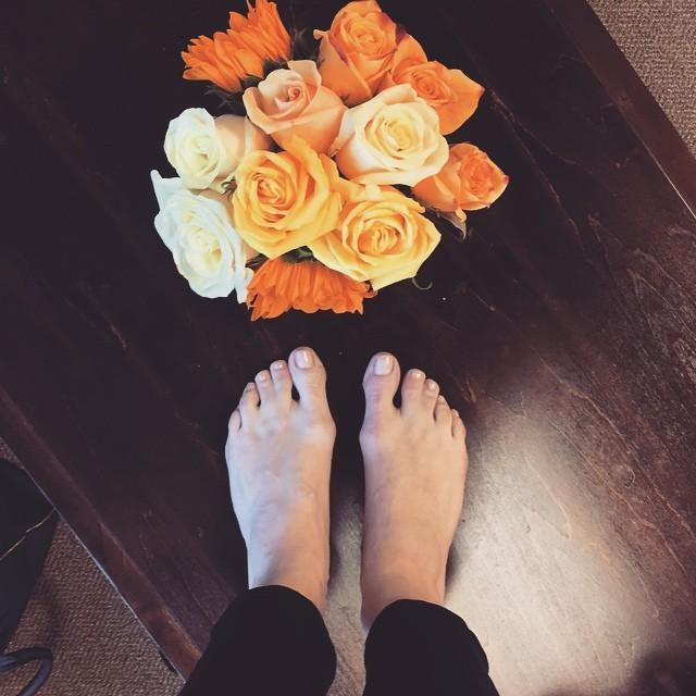 Danielle Panabaker Feet