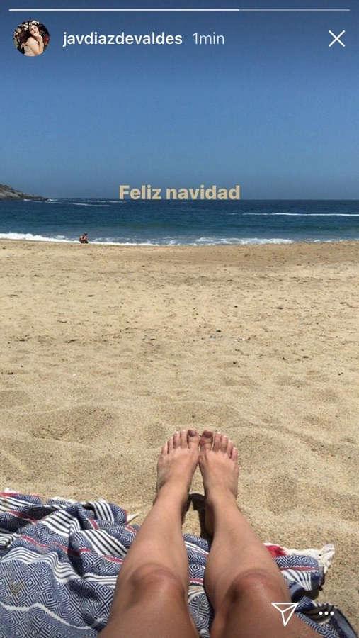 Javiera Diaz De Valdes Feet