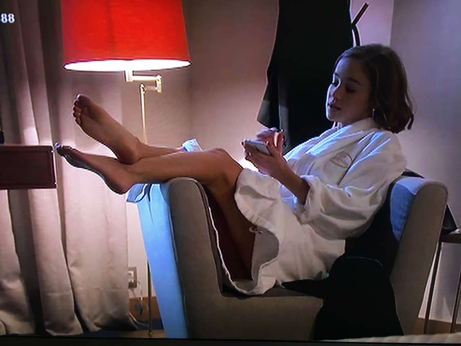 Alba Baptista Feet