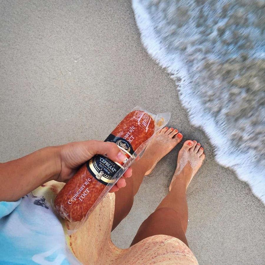 Ekaterina Kabak Feet
