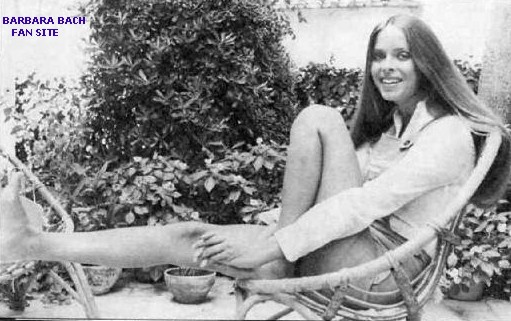 Barbara Bach Feet