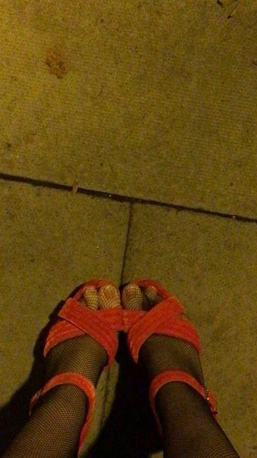 Georgie Henley Feet
