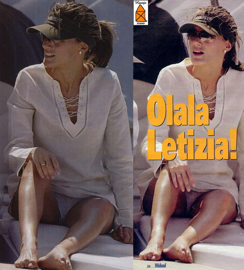 Queen Letizia Of Spain Feet