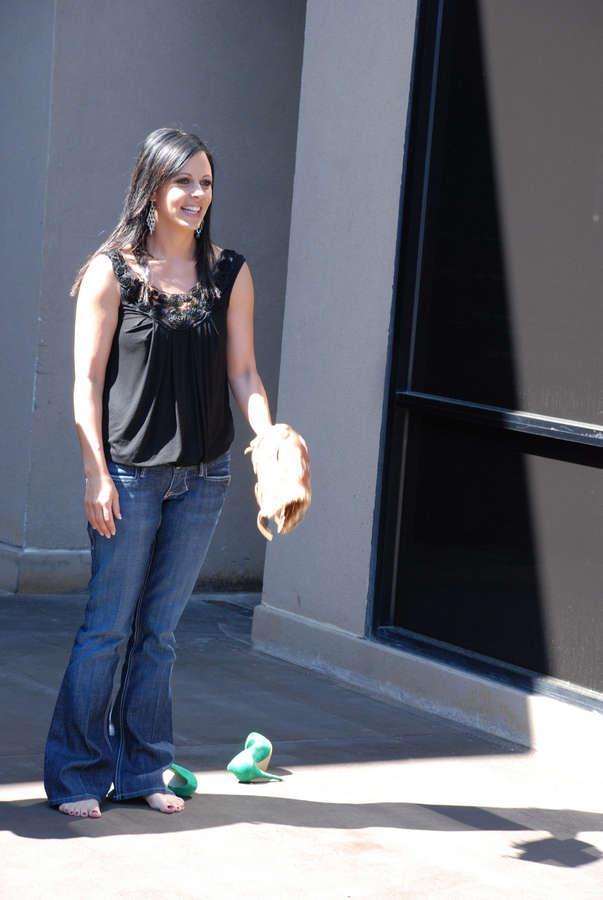 Sara Evans Feet