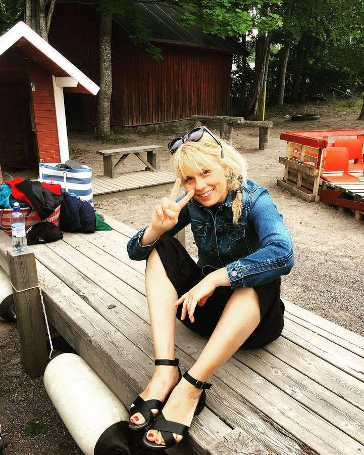Helena af Sandebergs Feet