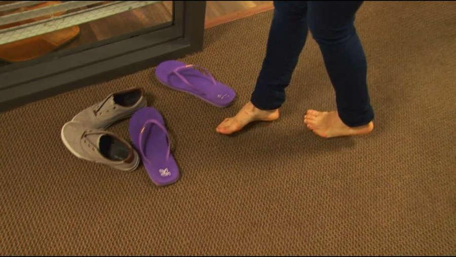 Mary Padian Feet