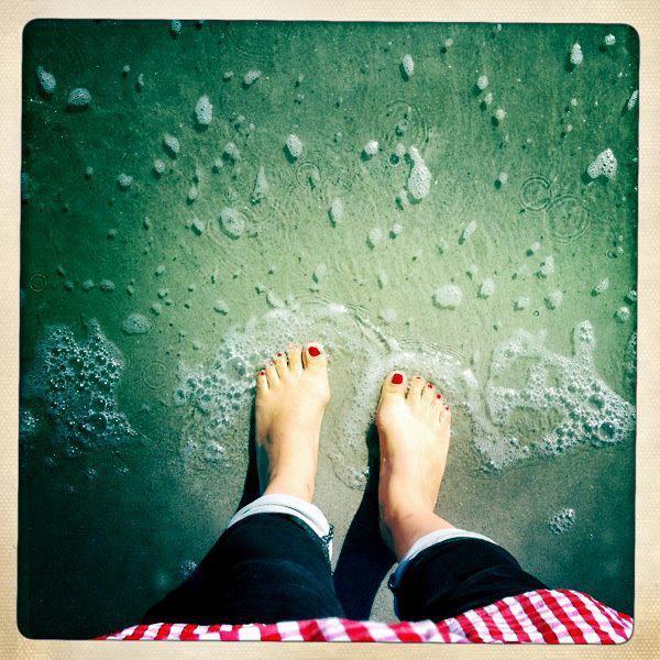 Lee Anne Wong Feet