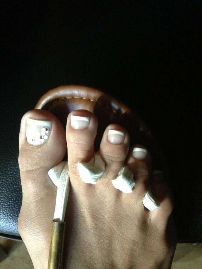 Shy Love Feet