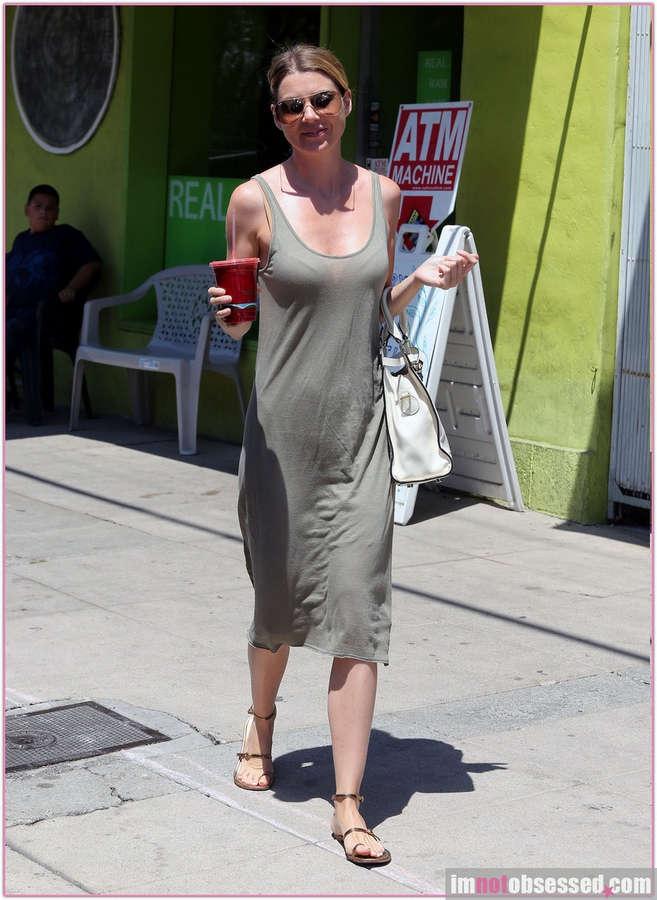 Ellen Pompeo Feet