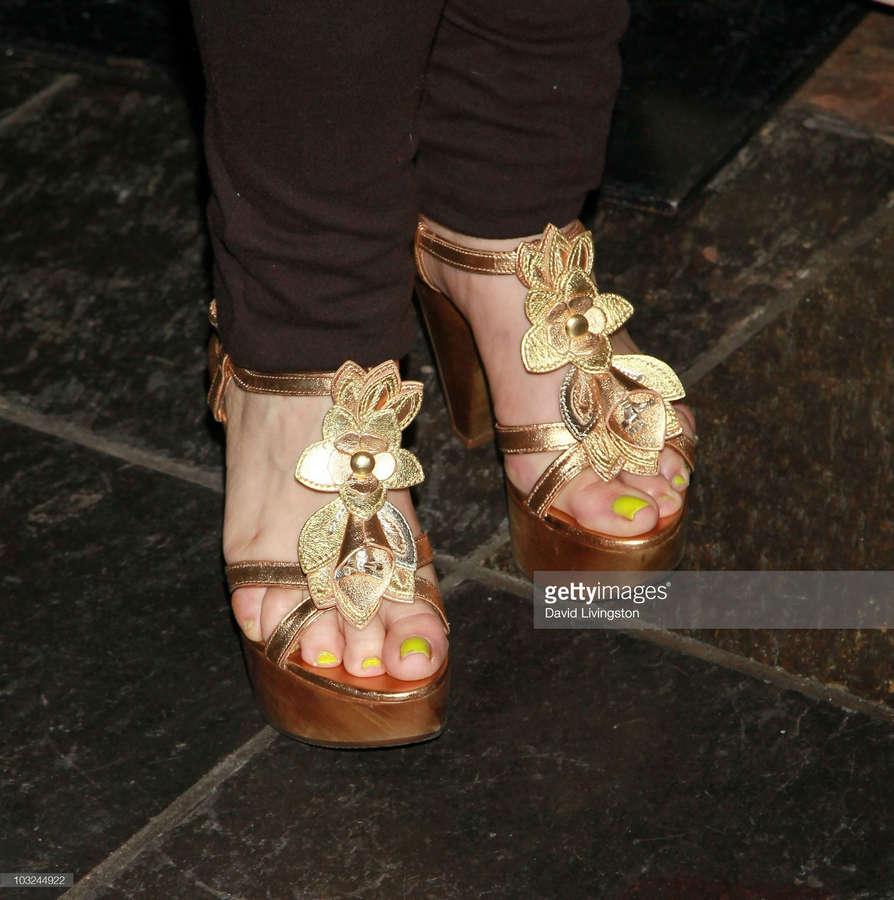 Charlene Tilton Feet