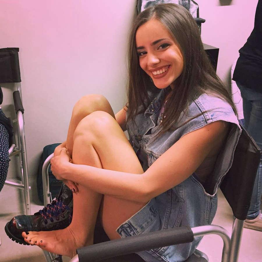 Giulia Penna Feet