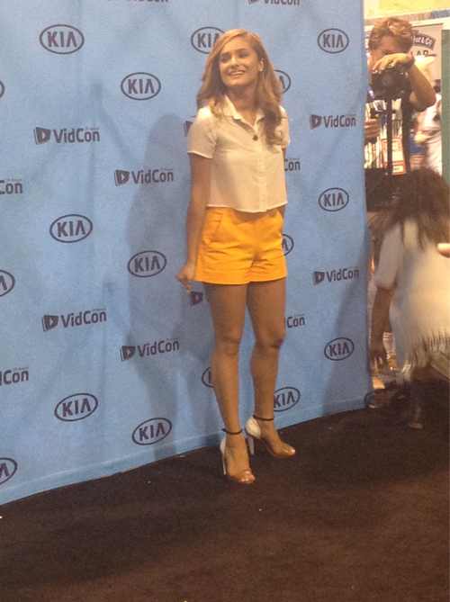 Olivia Chachi Gonzales Feet