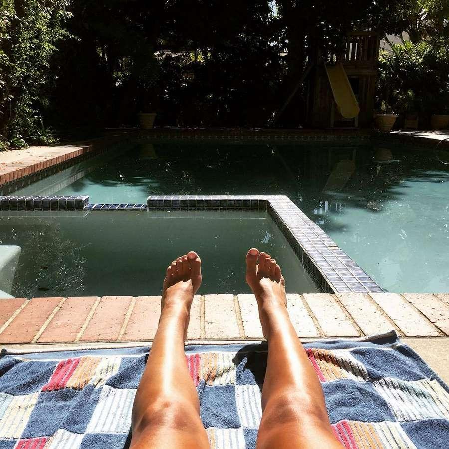 Hanna Stanbridge Feet