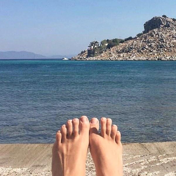Julia Anastasopoulos Feet