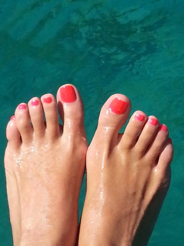 Tatiana Stefanidou Feet