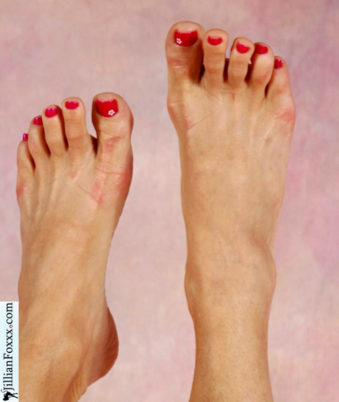 Jillian Foxx Feet