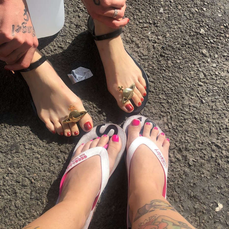 Kreayshawn Feet