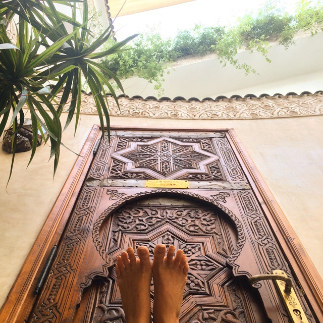 Rachel Brathen Feet