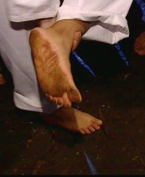 Konnie Huq Feet