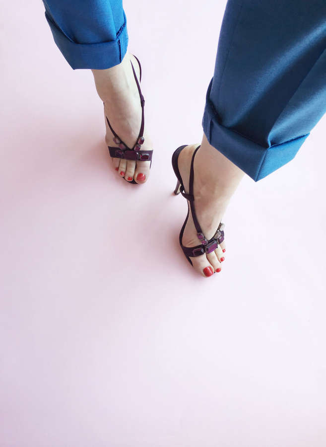 Gloria Petkova Feet