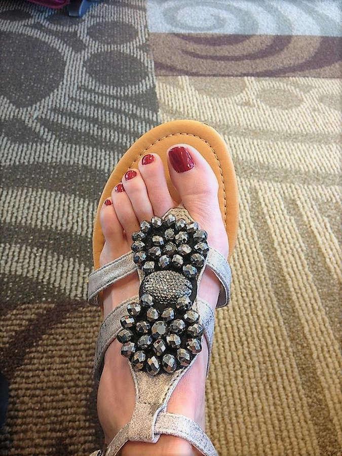 Julie Roberts Feet