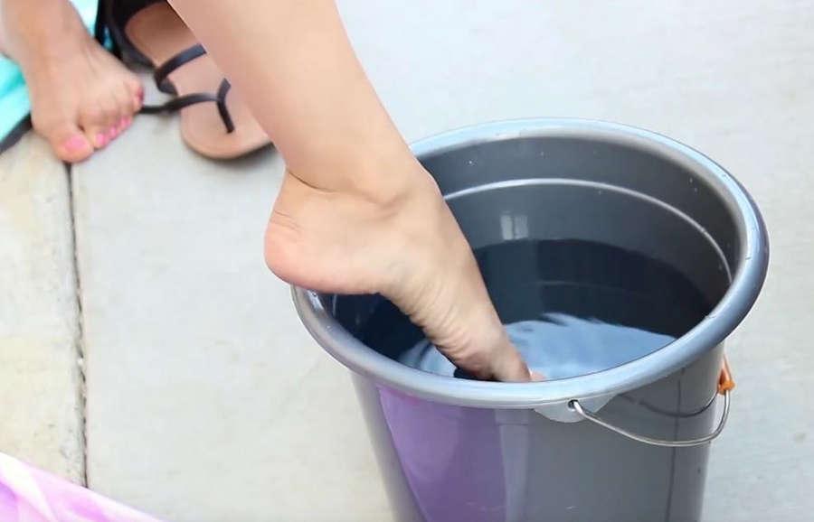 Christiann Castellanos Feet