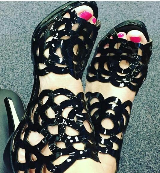Lee McKenzie Feet