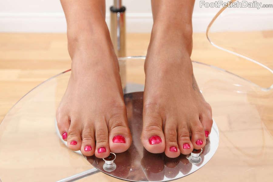 Adrianna Luna Feet