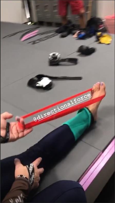 Cris Cyborg Feet