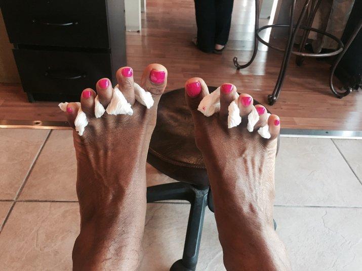 Hardcore foot fetish sex