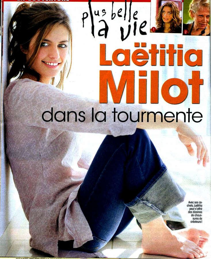 Laetitia Milot Feet