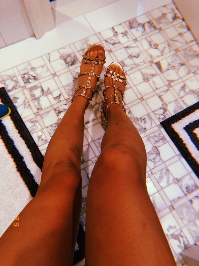 Michelle Wie Feet