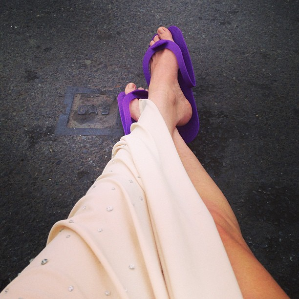 Cameron Russell Feet