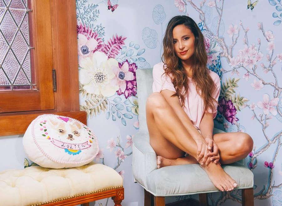 Lourdes Sanchez Feet