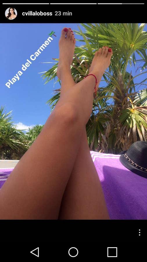Carmen Villalobos Feet