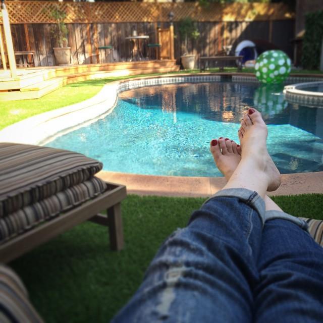 Corie Vickers Feet