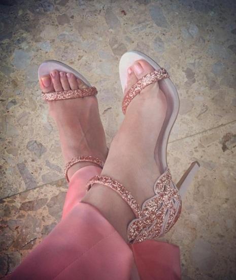 Acha Septriasa Feet