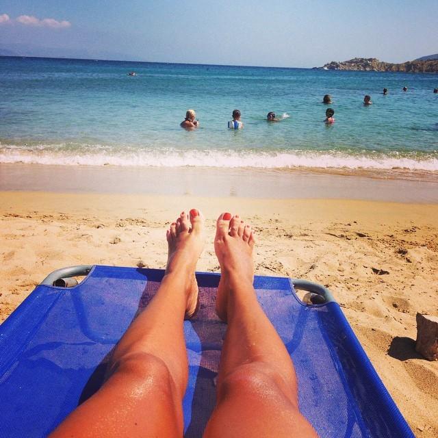 Tina Messaropoulou Feet