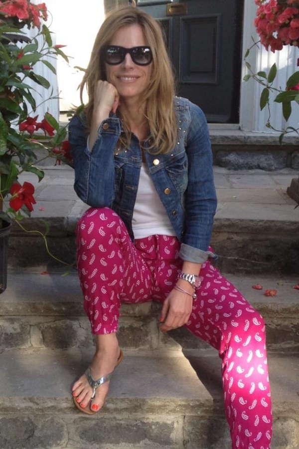 Julie Du Page Feet