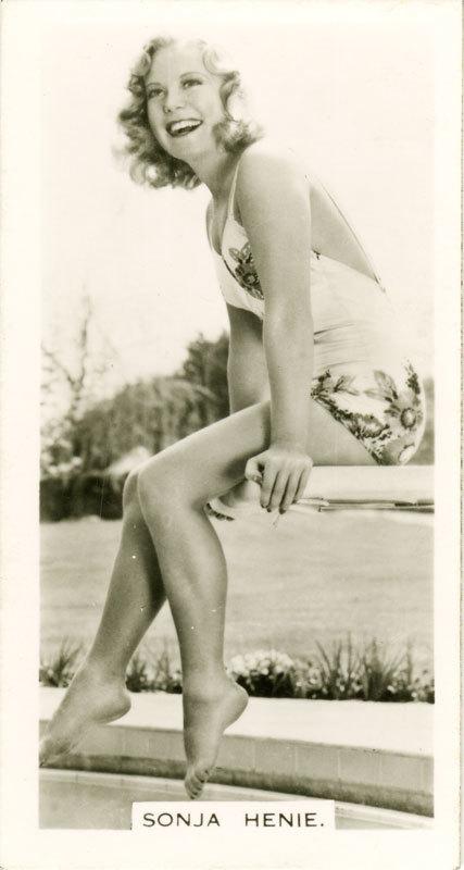 Sonja Henie Feet