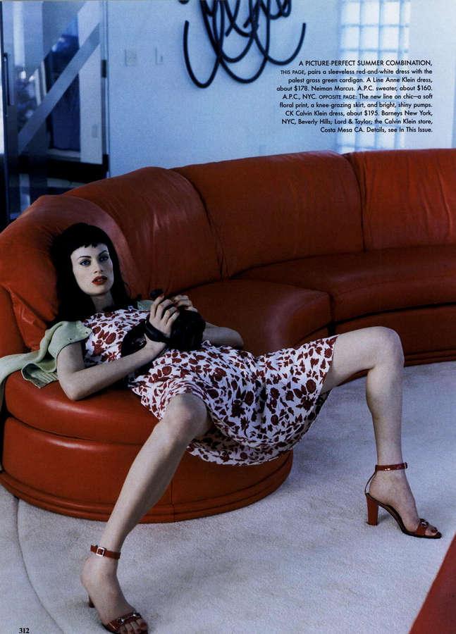 Kristen McMenamy Feet