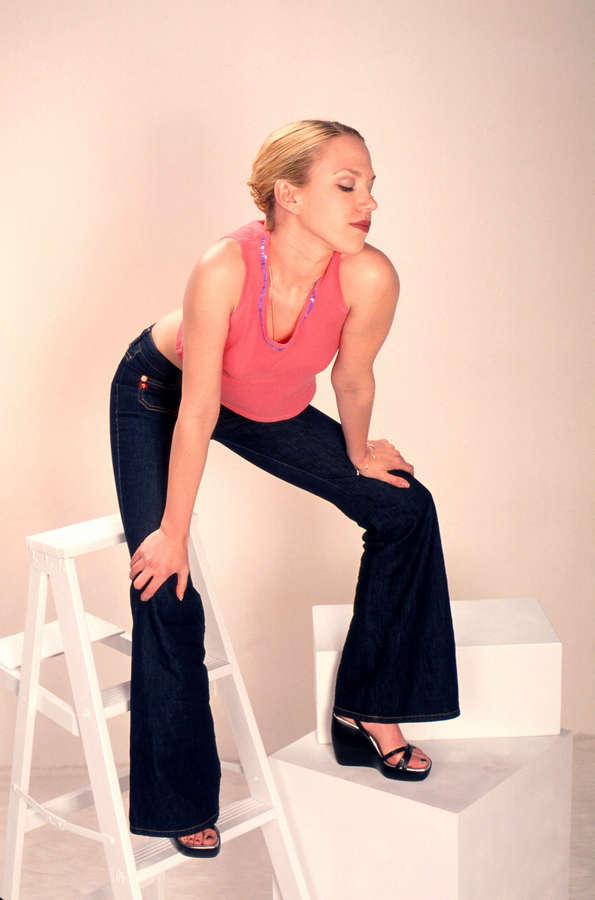 Adrienne Frantz Feet