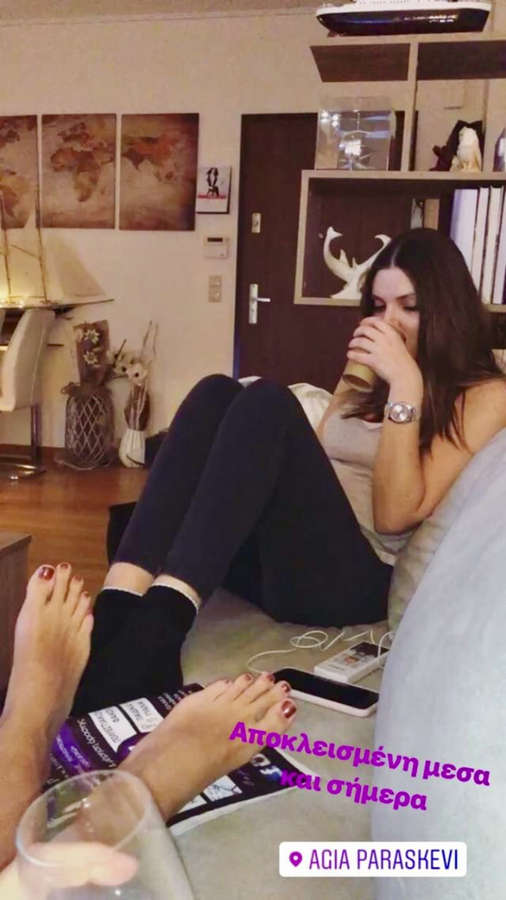 Ellie Papageli Feet