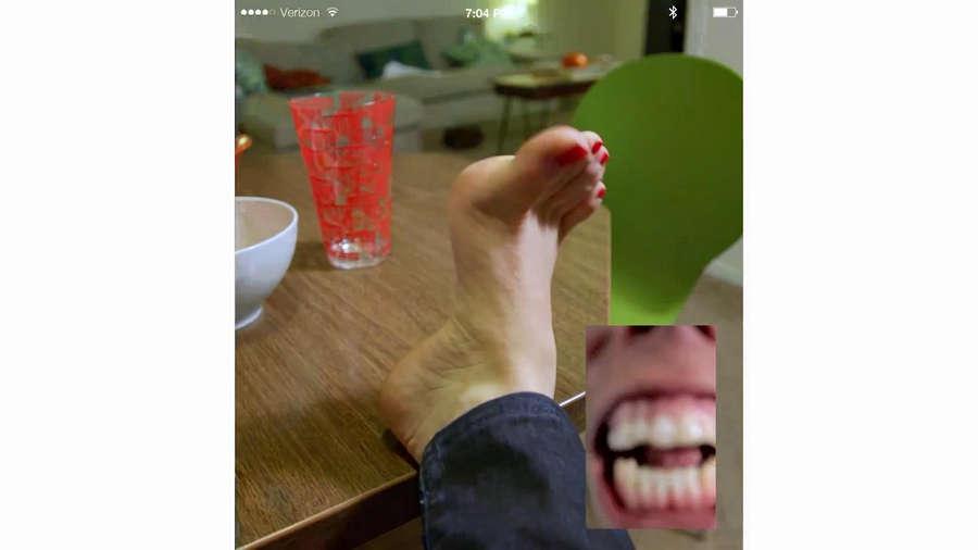 Maria Thayer Feet