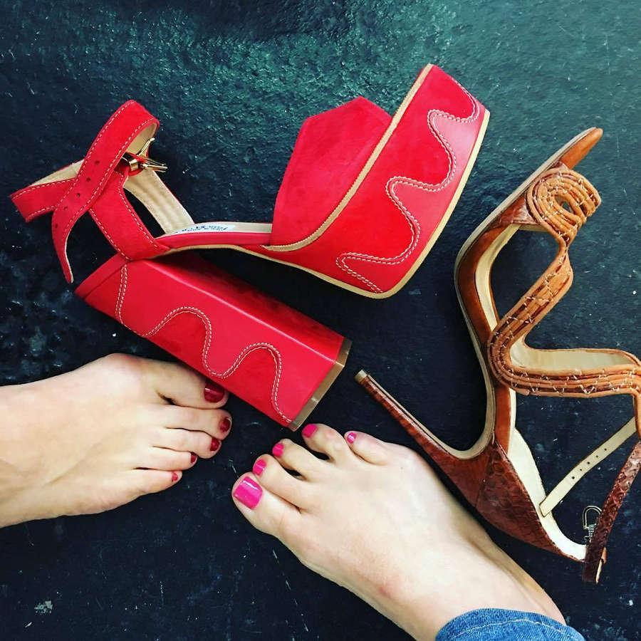 Giada De Laurentiis Feet