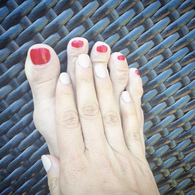 Anna Trebunskaya Feet